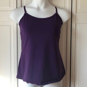Lane Bryant purple cotton camisole, 14/16